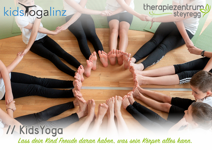KidsYoga im Therapiezentrum